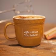 Baking Bowl Mug - Life Is What You Bake It 1