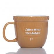 Baking Bowl Mug - Life Is What You Bake It 3