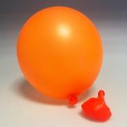 UV Neon Balloons 5 Orange