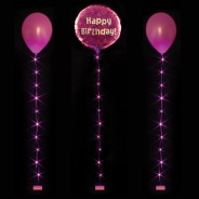 LED Balloon Lite 3 Fuchsia Pink