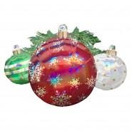 Super Shape 88cm Christmas Ornaments Balloon 1