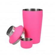 300ml Neon Cocktail Shaker 4 Neon Pink
