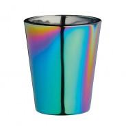 Metallic Rainbow Shot Glass Set 3