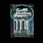 Batteries AA (4 pack) 1