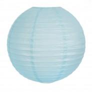 40cm Battery Paper Lanterns 7 Blue