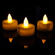 Flickering Tealight Candles (3 Pack) 1