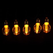 Battery Operated Nostalgia Bulb String Lights 4
