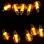 Battery Operated Nostalgia Bulb String Lights 2