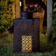 Battery Operated Ottoman Lantern 1