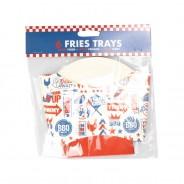 BBQ Paper Tableware 3 BBQ Fries Box
