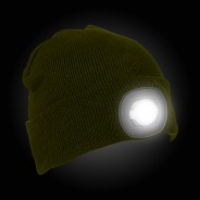 Discovery Adventures Kids LED Beanie 3 Green