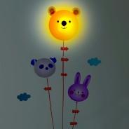 Bear & Balloon Nightlight with Sticker 2