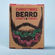 Christmas Beard Lights and Tinsel 2