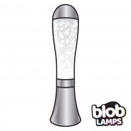 BIG BLOB Silver Glitter Lamp  4