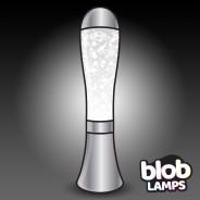 BIG BLOB Silver Glitter Lamp  1