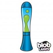 BIG BLOB Metallic Blue Lava Lamp - Green/Blue 4