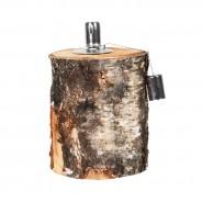 Birch Log Oil Lamp FF418 2