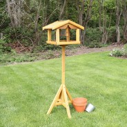 Bird Table with Built in Feeder 1