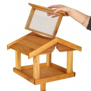 Bird Table with Built in Feeder 3