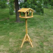 Bird Table with Built in Feeder 2