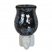 Black Crackle Plug In Oil/Wax Melt Warmer 2