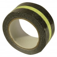 Black Safety Tape with Glow in the Dark Strip (5cm x 5m length)  3