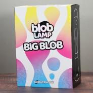 BIG BLOB Metallic Gold Lava Lamp - White/Yellow 2