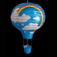 Blue Balloon Paper Shade 2