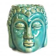 Blue Buddha Head Oil Burner 1