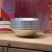 Boho Spice Indian Silver Bowl 3