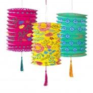 Boho Paper Lanterns x 3 3