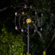 Boreas Wind Spinner with Solar Ball 1