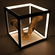 LED Black Box Lamp 1