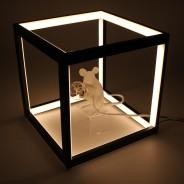 LED Black Box Lamp 4
