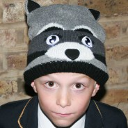 Bright Eyes - Light Up Hats 12 Raccoon