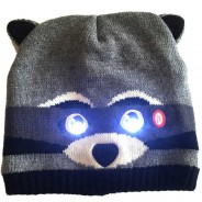 Bright Eyes - Light Up Hats 9 Raccoon