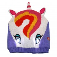 Bright Eyes - Light Up Hats 6 Unicorn