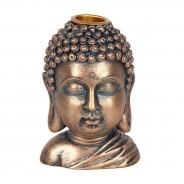Bronze Buddha Head Backflow Burner 5