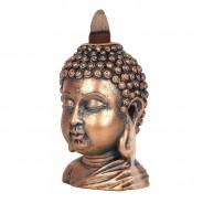 Bronze Buddha Head Backflow Burner 4