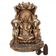 Bronze Ganesh Backflow Burner 3