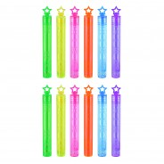 Neon Star Bubble Tubes (12 pack) 2