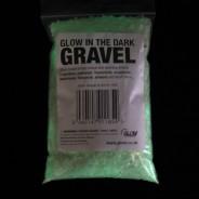 Glow Gravel Green Bulk 2-6mm 1kg 2