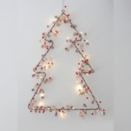 Cabana Rose Gold Crystal Chic Battery Fairy Lights 3