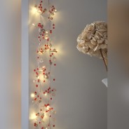 Cabana Rose Gold Crystal Chic Battery Fairy Lights 4