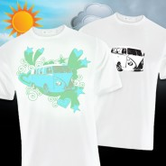 Solar Camper Van T-Shirt 1