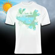 Solar Camper Van T-Shirt 3