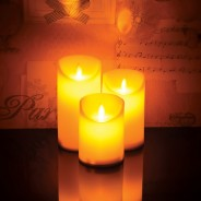 3 Dancing Flame LED Candles 2