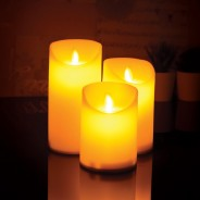 3 Dancing Flame LED Candles 4