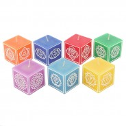 Set of 7 Chakra Symbol Candles 2