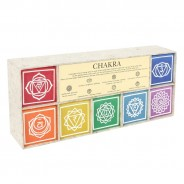 Set of 7 Chakra Symbol Candles 3